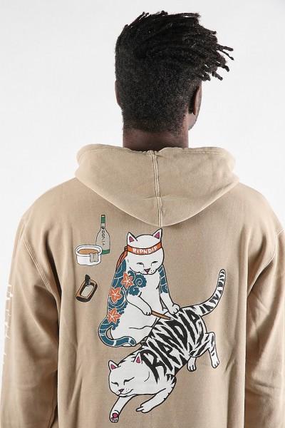 Rip N Dip Tattoo Nerm Pullover Sweater Tan
