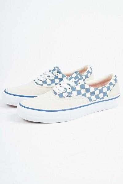 0a57e835717 Vans Era Pro (CHECKER) Classic White Blue Ashes